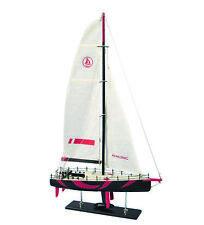Modellboot Sport-Segelyacht Einmaster Typ Ocean Race historisches Schiffsmodell