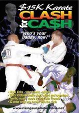 Rs-0087 $15K Karate Clash for Cash Dvd Joe Long 32 fighters sparring kumite 2 hr