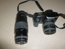 MINOLTA MAXXUM 5000i & 2 Sigma Lens Bundle