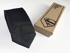 Superman Silk Tie Black Edition - Slim Tie - Wedding Tie, Christmas Gift