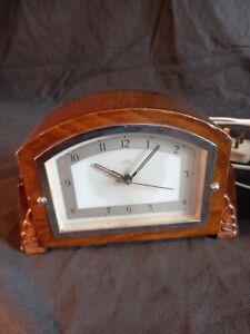 Vintage Wooden Electric Clock