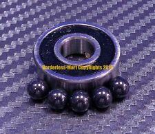 """[QTY 4] R8-2RS (1/2"""" x 1-1/8"""" x 5/16"""") Hybrid Ceramic Ball Bearing Bearings R8RS"""