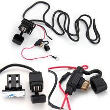 Motorbike 12v USB Socket Adapter Chargers Docks Power Waterproof Security