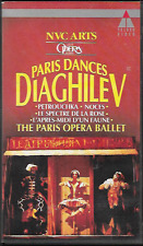 PARIS DANCES DIAGHILEV PARIS OPERA BALLET VHS VIDEO PAL UK FORMAT VGC