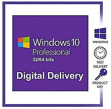 Windows 10 Pro Genuine License Key Fast delivery Online activation
