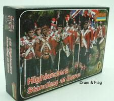 Strelets Set 163 - Highlanders Standing at Ease. Napoleonic Wars. 1/72 scale