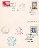ARGENTINE ANTARCTIC CRUISE SHIP TS LIBERTAD 2 SHIPS CACHED COVERS