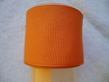"Orange Grograin Ribbon - 1 1/2""  - 1 2/3 yards"