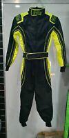 Children's Go Kart Suit (Fluro Green)