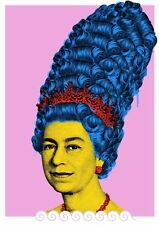 """Penny """"Her Margesty"""" Poster Art Print Grafitti Pink X/25 Mondo Queen Simpsons"""