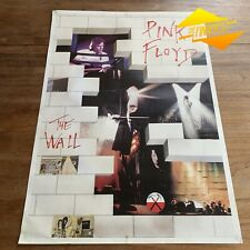GENUINE 1979 PINK FLOYD 'THE WALL' ADVERTISING ALBUM POSTER ROGER WATERS