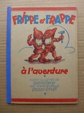 Jacques-G.Krafft, Jeanne Furster - Frippe et Frappe à l'aventure