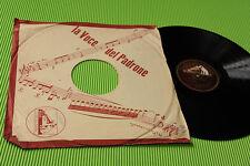 "PEREZ PRADO LP 10"" 78 GIRI MAMBO N 5 / MAMBO JAMBO ORIG ITALY '50 EX TOP TOP RAR"