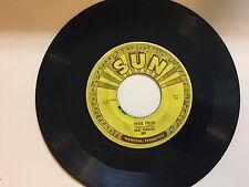 ROCKABILLY 45 RPM RECORD - CARL PERKINS - SUN 249