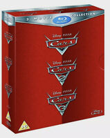 CARS TRILOGY Brand New BLU-RAY Movie Set All 3 Disney Pixar Movies 1-3 1 2 3