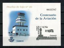 ESPAÑA 2003. Prueba nº 82. CENTENARIO DE LA AVIACION.