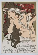 Mucha Salon des Cents 20th Exhibition 1896 Limited Edition Fine Art Lithograph