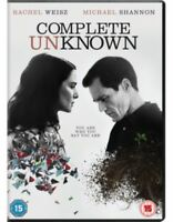 Completo Unknown DVD Nuovo DVD (CDR5798)