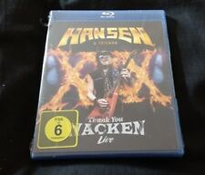 HANSEN & FRIENDS Thank You Wacken Live Blu-ray NEW SEALED 2017 Region B Uk