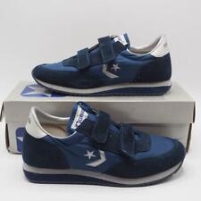 Vintage Converse Scimitar Sneakers Blue Suede One Star Mens 7.5 Nos Deadstock