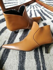 Carvela Leather Ankle Boots Brand New 7