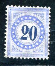 Suiza porto 1882 11 ungummiert raras (k7704