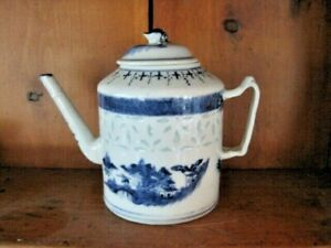 18th C Chinese Teapot with rice grain.
