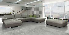 Ecksofa Sofa Couch Polster U Form Wohnlandschaft Sitzgarnitur Sofas Neu Tonkio