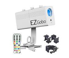 Chauvet EZgobo Rechargeable LED Gobo Lighting Effect w/Chauvet CLP-10 NEW EZGOBO