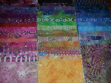 """Lot#a, 100pcs BATIK quilt blocks, cotton fabric pack, 4"""" squares"""