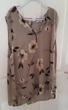 NEXT Floral Taupe Femme Taille 16