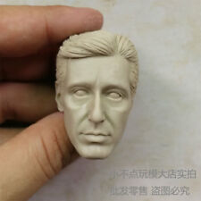 Free Shipping 1/6 scale blank Head Sculpt Al Pacino Scent of a Woman unpainted