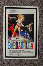 Barbarella Lobby Card Movie Poster #3 Jane Fonda