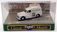 Corgi 1/43 Scale Diecast D957 - Morris 1000 Van 7up - Grey