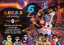 Personalize Funny Coco Invitation, Miguel and Hector Party, Coco Birthday Invite