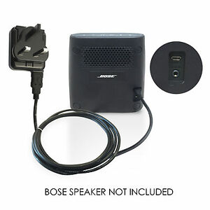 Mains Power Adapter Battery USB Charger for Bose Soundlink Mini II, 2 Speaker