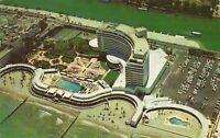 Miami Beach, FLORIDA - Fontainebleau Hotel - Birdseye - 1960 - ARCHITECTURE