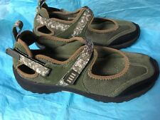 Size 6.5 B Green Lands End Shoes