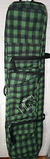 BURTON WHEELIE LOCKER 166 GREEN PLAID