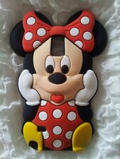 DE-SILICONE CASE MINNIE RED for Samsung Galaxy NOTE 4