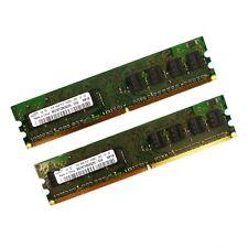 2x1GB Samsung M378T2863QZS-CE6 PC2-5300U 667MHz Speicherriegel RAM*mit Rechnung*