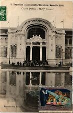CPA EXPO Coloniale MARSEILLE 1908 Grand Palais - Motif central (403488)