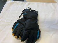 Colmar Black/Orange/Blue Sapporo Ski Snow Gloves Mens Size Medium *RCP*AB8