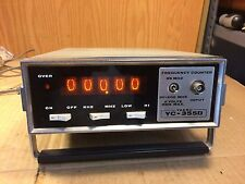 Vintage Yaesu YC-355D Nixie Frequency Counter Tested & WORKING