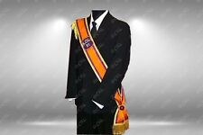 Loyal Orange Order Lodge LOL - Side sash - Gold braids