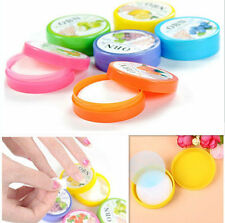 2pcs 64 pads Flavor Nail Art Polish Vanish Remover Pads Wet Wipes Paper Towel
