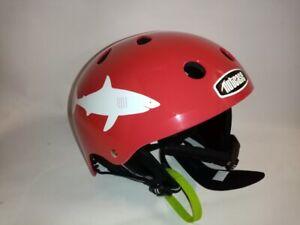 NUTCASE Helm SHARK ATTACK WATER HELMET L-XL Wassersport Raften Surfen Kiten