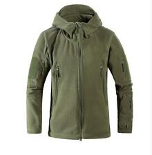 Winter Polar Fleece Hunting Outdoor Men Jacket Military Coat Hoodie 3 Colors