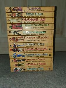 The Flashman Papers Complete Collection Books 1-12 George Macdonald Fraser