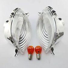 Clear Front Turn Signals Light For Suzuki Hayabusa GSX1300R 1999-2007